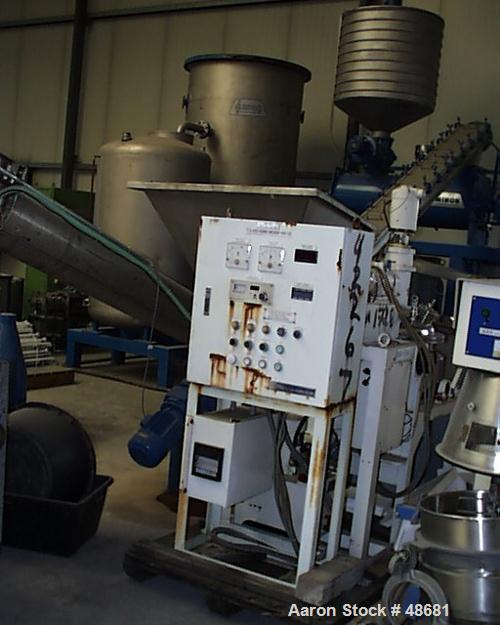 Used- Stainless Steel Tokushukika Kogyco Co Ltd Agi-homo mixer, Model 20-50. 20 Gallon working capacity