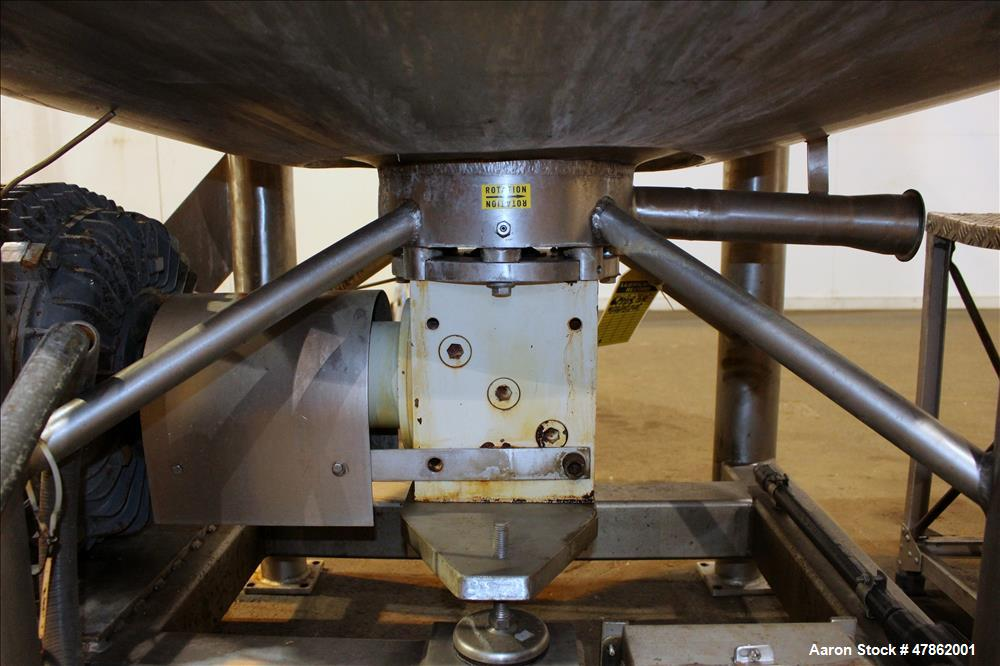 Used- APV Crepaco Liquiverter 300 Gallon Processor