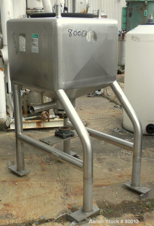 Used- Stainless Steel APV Liquifier, 50 Gallon