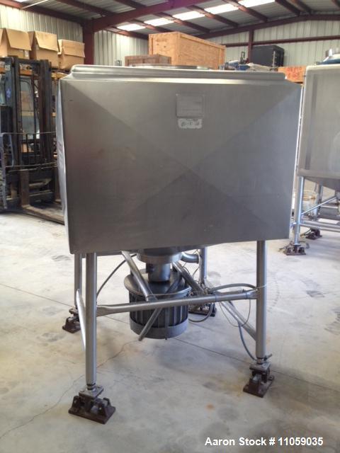 Used- 250 Gallon Jacketed Breddo Likwifier/Liquifier, Model LDDW250