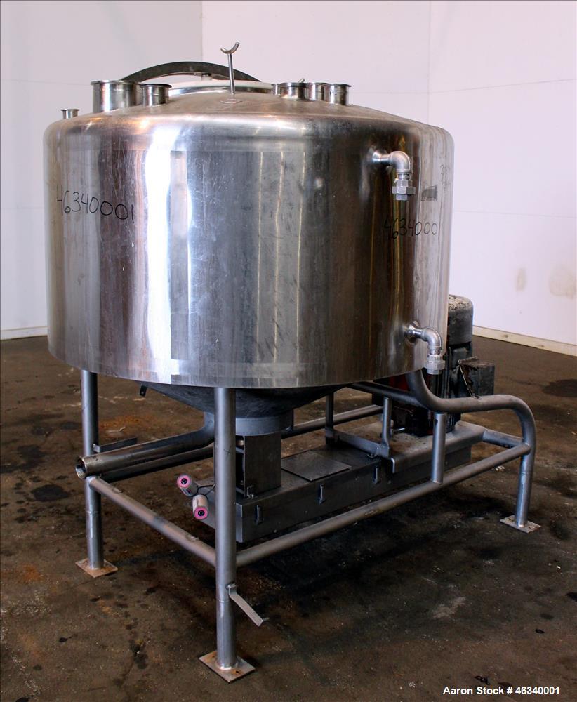 Used- Breddo Likwifier, 200 Gallon, Model LORW