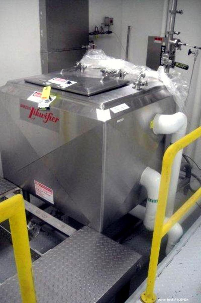 Used- Breddo Likwifier, Model LOSWW-150, stainless steel construction, jacketed bowl, 150 gallon working capacity, 30 hp mot...
