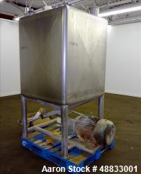 Used- APV Liquiverter/Likwifier, 300 Gallon, Model CLV, 316L Stainless Steel.