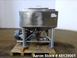Used- APV Crepaco Liquifier, Approximately 100 Gallon, 304 Stainless steel.