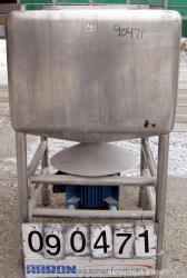 Used: Stainless Steel Likwifier, Approximate 150 Gallon Capacity