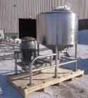 Used-  Breddo Likwifier, 300 Gallon, Model LOR, 304 Stainless Steel.  Non-jacketed tank 54