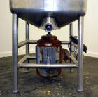 Used- Stainless Steel Norman Machinery Hi-Speed Likwifier, 100 Gallon, Model YS-100