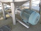 Used Walker 500 Gallon, 316L stainless steel jacketed liquifier tank, model PV Liquiverter. 58