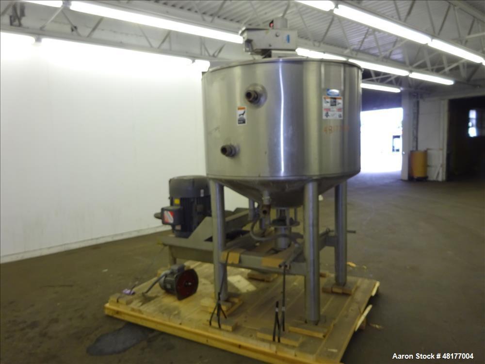 Used- Walker Stainless PZ Multi-Mixer, Model PZ Multi-Mixer, 200 Gallon, 316L St