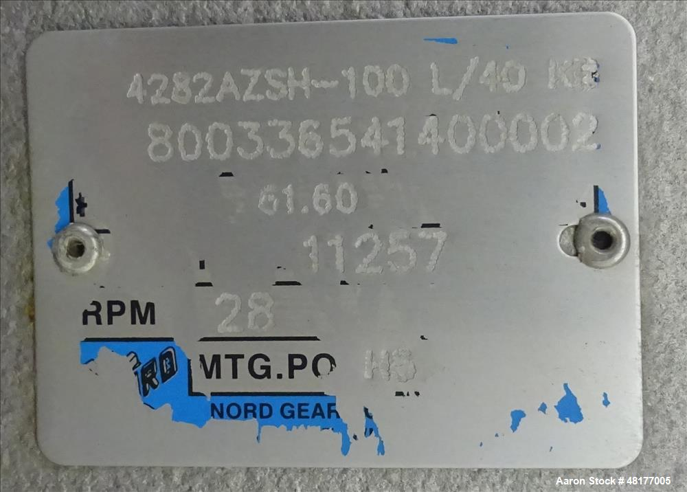 Used- Walker Stainless PZ Multi-Mixer, Model PZ Multi-Mixer, 200 Gallon
