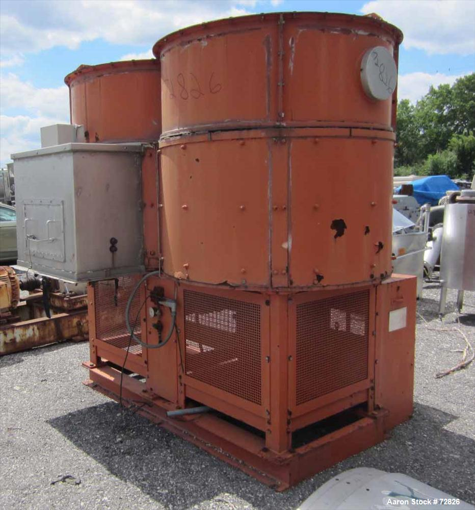 USED- Simpson Multi-Mull Continuous Mixer, Model 21GP, 304 Stainless Steel. Capacity approximately 30 Tons/HR. Figure 8 styl...