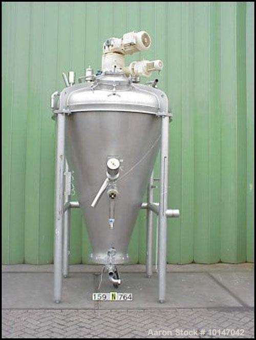 Used- Stainless Steel Bolz MF-150 Conical Mixer
