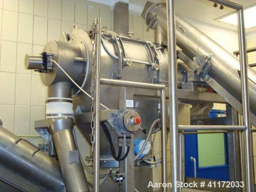 Used- Bolz Nauta Mixer/Dryer, 105 cubic feet working capacity (3,000 liter), stainless steel. Internal rated 5 bar/full vacu...