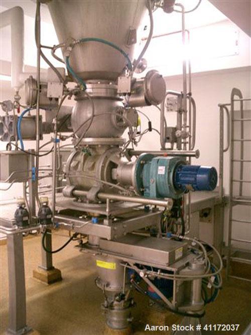 Used- Hosokawa Micron Nauta Mixer/Dryer, Approximately 283 Cubic Feet (8024 liter) total capacity, Type 35-HDC-54, Hastelloy...