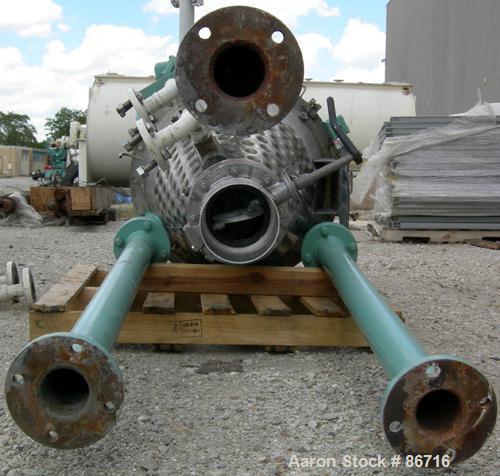 """USED- J H Day Nauta Mixer, 1.75 Cubic Foot Working Capacity, 304 Stainless Steel. Approximately 28"""" diameter x 36"""" straight ..."""