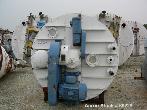 "Used- Nauta Mixer, Model MBX525, 304 Stainless Steel. 52.5 Cubic foot working capacity (392.7 gallon). 76"" Diameter x 106"" s..."