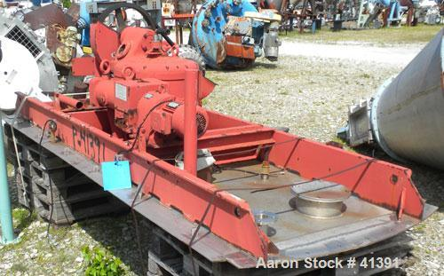 Used- Stainless SteelB.V. Nauta Mixer, Model MBXE-100R, approximately 400 cubic