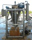 Used- Alfred Bolz Mixer, Type MF 003 VIDP, approximately 3.88 cubic feet (110 lter) capacity, 316 stainless steel. 25