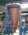 Used-Hosokawa Micron Nauta Type Mixer, Model 10VV-2, Stainless Steel. 35.3 cubic feet (1000 liter) working capacity. 61.6