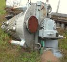 Used- J H Day Nauta Mixer, 3.3 Cubic Feet working capacity, Mark II 3.5, 304 stainless steel. 39-7/8