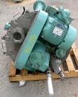 USED- J H Day Nauta Mixer, 1.75 Cubic Foot Working Capacity, 304 Stainless Steel. Approximately 28