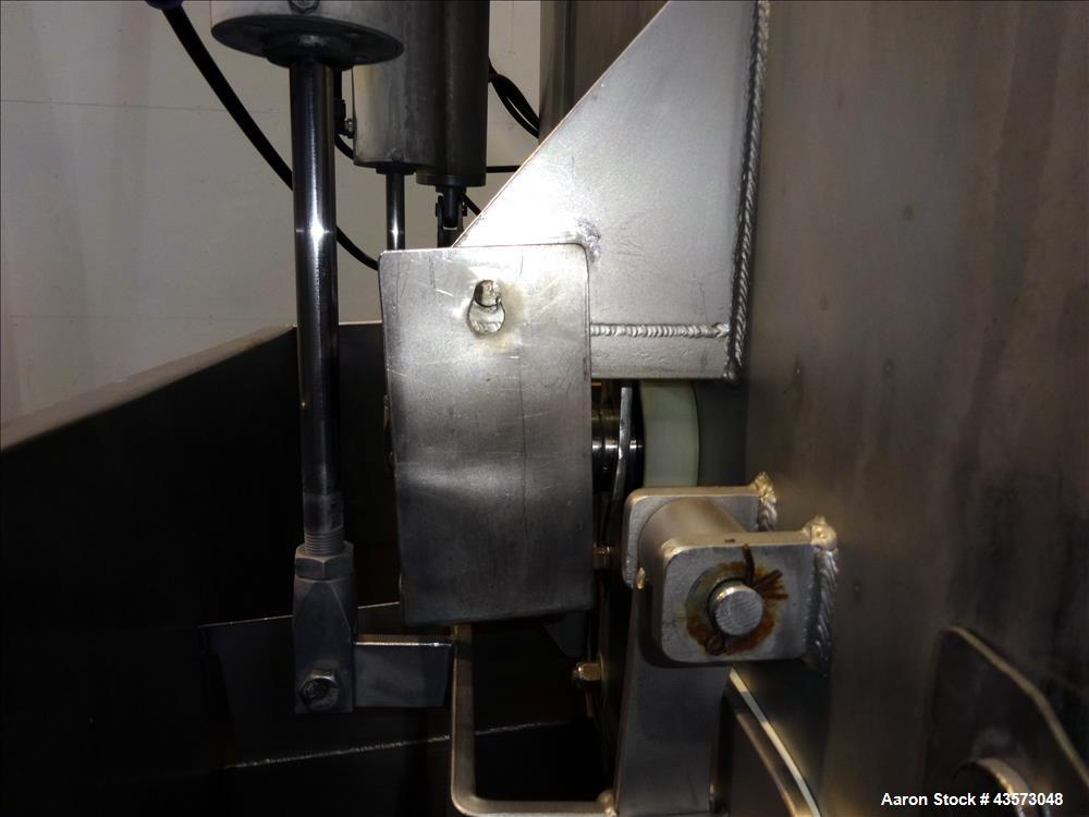 Used- Dual Shaft Paddle Mixer, 304 Stainless Steel.