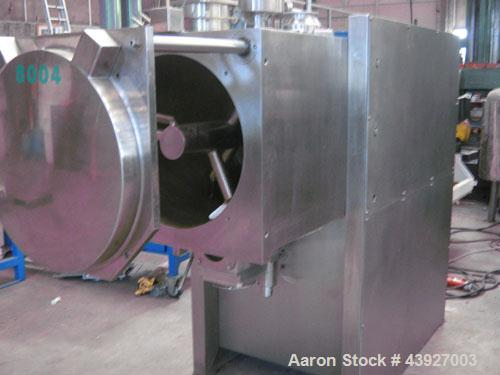 Used-Vacuum Paddle Dryer.  Total usable volume 5.2 cubic feet (150 liters)