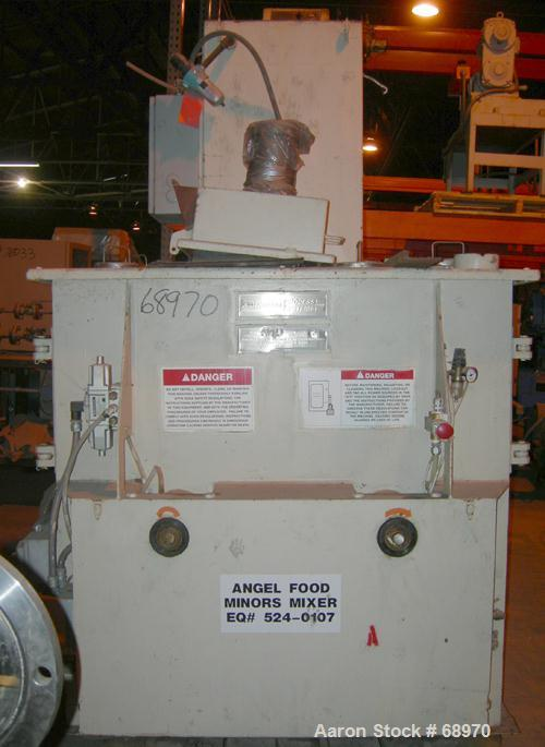 Used- Carbon Steel American Process System Twin Shaft Fluidizer, Model FZM-12