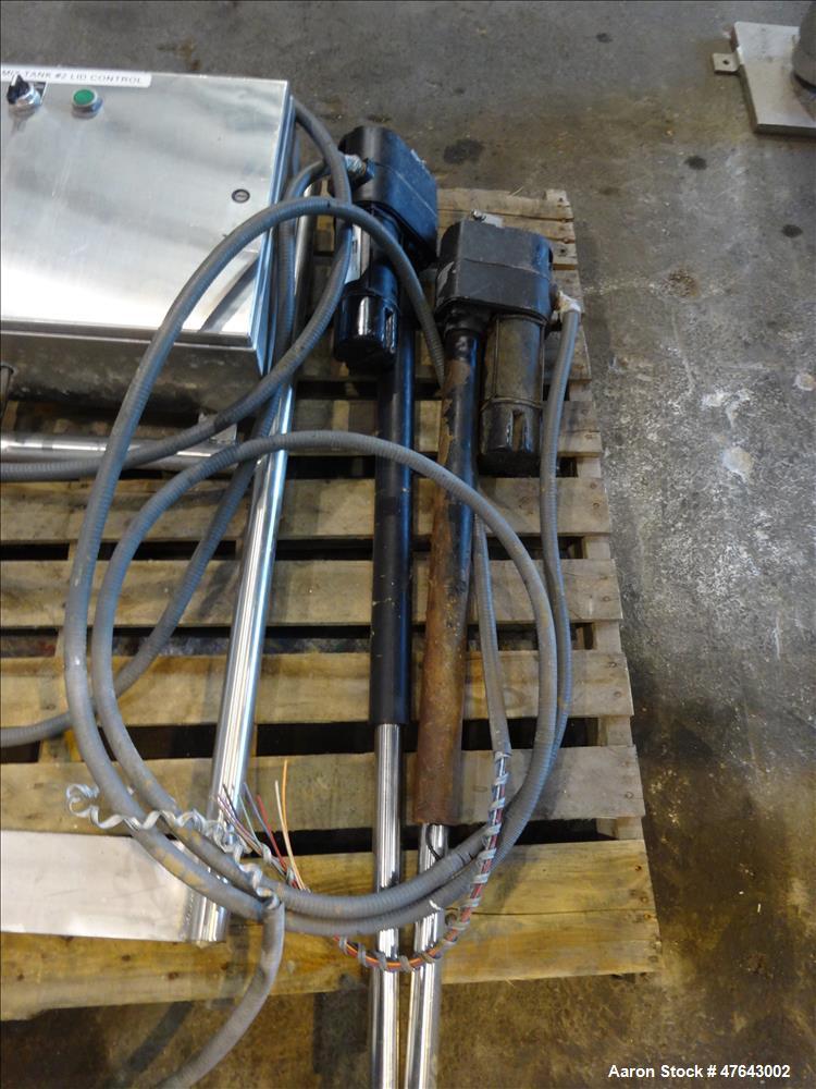 Used- APV Dual Ribbon Blender, Model DR, 304/316 Stainless Steel