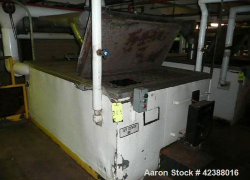 Used-Baker Perkins Mild Steel Jacketed Paddle Mixer  Approx. 4'W X 7'L With Stainless Steel Interior, Recorder, Hinged Cover...