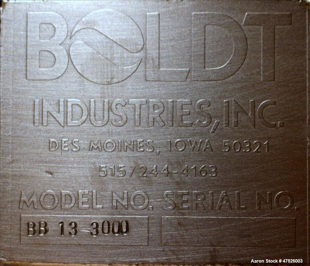 Used- Bolt Paddle Blender, Model BB 13-3000
