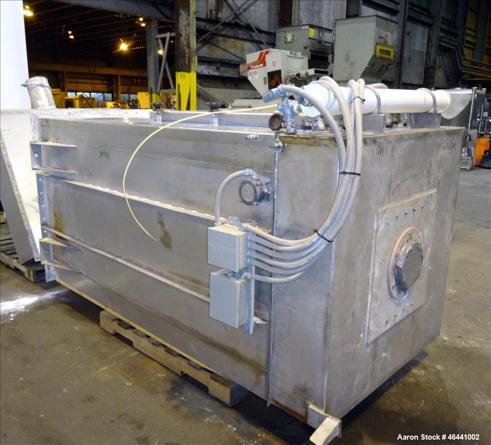 Used- Dynamic Air Forberg Twin Shaft Fluidizer