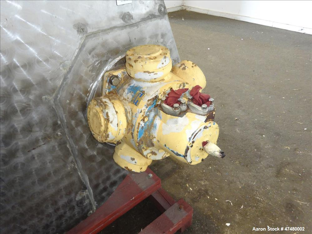 Used- Twin Auger/Paddle Mixer, 304 Stainless Steel.