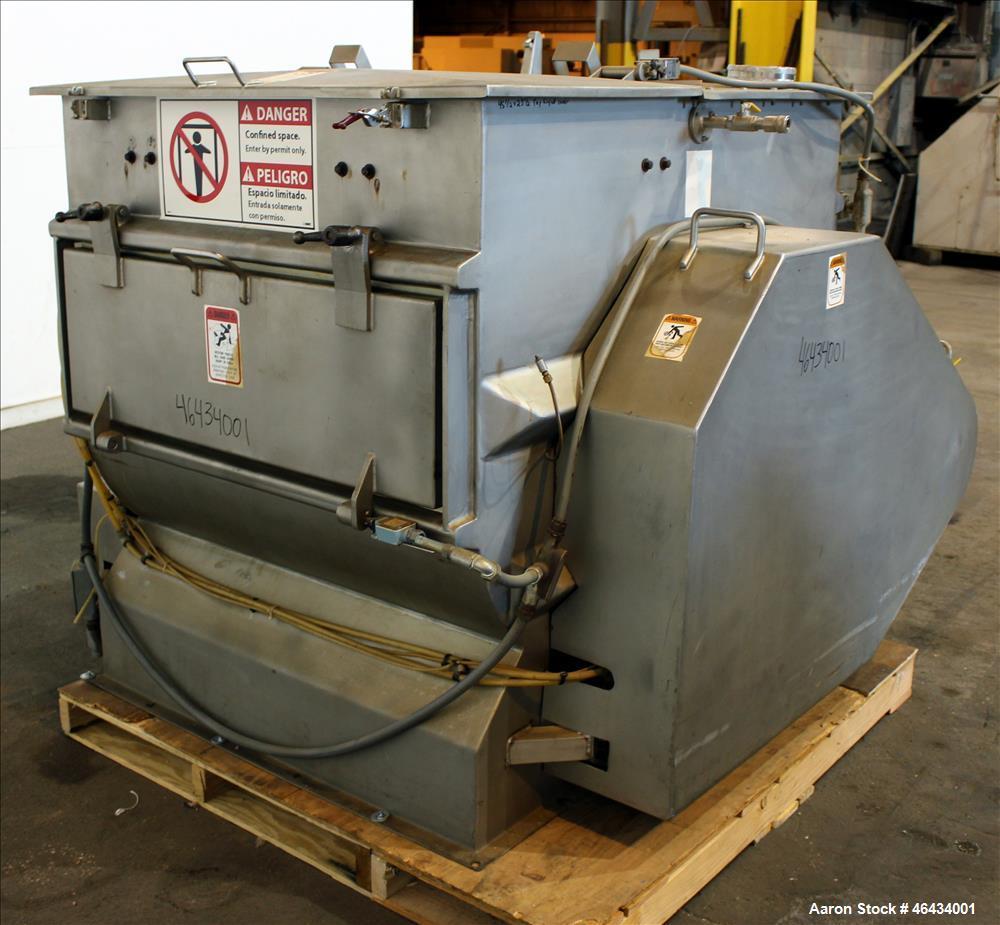 Used- Dynamic Air Forberg Twin Shaft Fluidizer