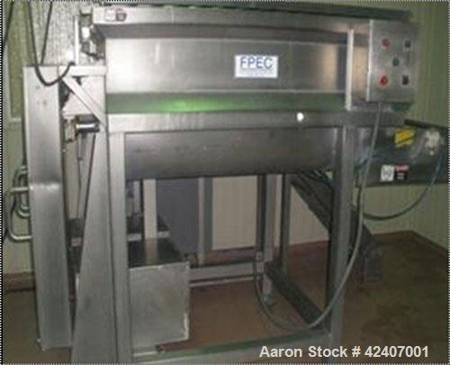 Used-FPEC Open Mixer/Blender, model 814. 1000 lb capacity, 2202V/440V. Paddle, ribbon or screw agitators; safety grid cover ...