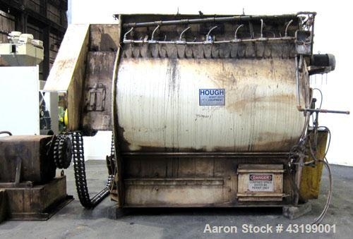 Used- Hough Forberg Twin Shaft Fluidizer, Model FB500002