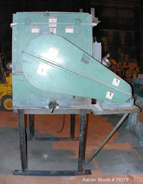 USED: Kelly Duplex single shaft horizontal paddle mixer, model 3604HM. 36 cubic foot working capacity, carbon steel. Non-jac...