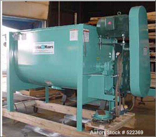 """Unused-NEW Marion BPA-3672 batch mixer. 45 cubic foot mixing capacity, 3-7/16"""" solid main shaft with bolted cast arms and ad..."""