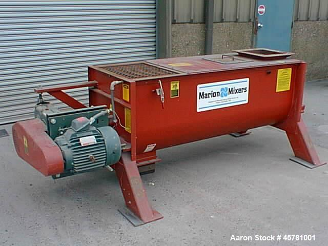 Unused- Marion Paddle Mixer, Model CPA-2472.