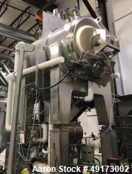 Used- Feldmeier Horizontal, Insulated, Jacketed, Round 'Hip' Paddle Blender, 1,5