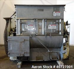 Used- American Process Forberg Twin Shaft Fluidizer Zone Mixer, Model FZM-70, 70