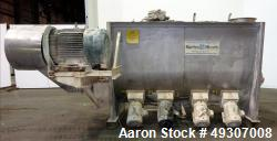 Used- Marion Paddle Mixer, Model BPS-5496, 304 Stainless Steel.