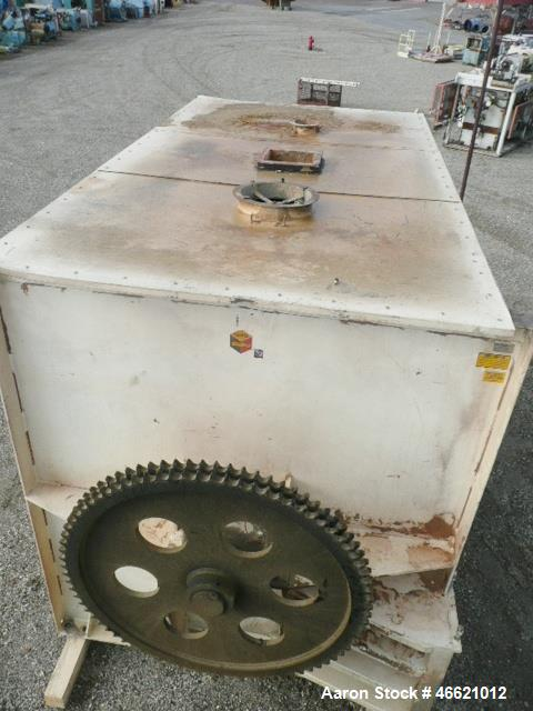 Used- 768 Cubic Foot Scott Ribbon / Paddle Blender