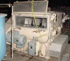 USED: Forsberg fluidized zone mixer, model F500XE, stainless steel.17.7 cu ft batch capacity. Chamber 46