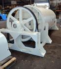 Used- J.H. Day Cylindrical Paddle Mixer, 200 Cubic Feet Working Capacity, 316 Stainless Steel. 60