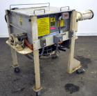 Used- Marion Paddle Mixer, Model SPS1824, 3.5 Cubic Foot Working Capacity (5 Total), 304 Stainless Steel. Non-jacketed troug...