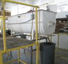 Used- Marion Paddle Mixer, approximately 36 cubic foot, carbon steel. End discharge. Last used on a seasoning mix.