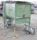 USED: Marion Paddle Mixer, 18 cubic feet working capacity, carbon steel. Non-jacketed trough 27