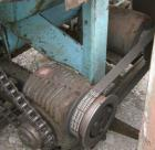 Used- Weiler Paddle Mixer, Approximately 40 Cubic Feet Capacity, Carbon Steel. Non-jacketed trough 36