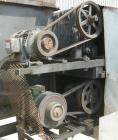 Used- Weiler Paddle Mixer, Approximately 48 Cubic Foot Capacity, Carbon Steel. Trough measures 36